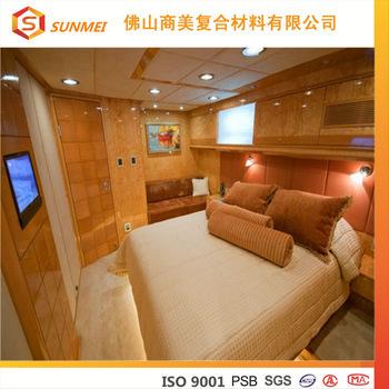 OEM Fireproof honeycomb panel marine cabin Furniture beds