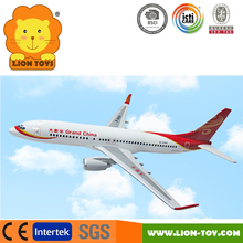 1/100 Scale Boeing 737 Airplane model Resin 737-800 toy aircraft model for promotion