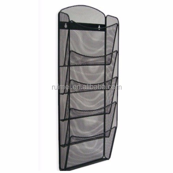 Multi Function Wall-Mounted Wire Mesh File Holder