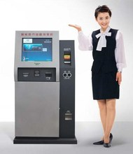 Cash acceptor Machine / Cash Acceptor Payment Kiosk with card reader