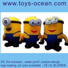 Inflatable cartoon model /funny inflatable cartoon /Advertising Inflatable Minion Model