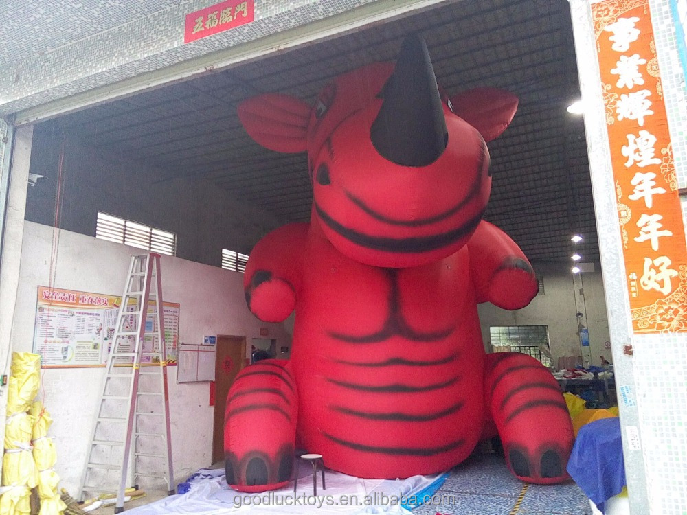 Giant inflatable rhino for Advertising