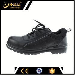 Leather Upper Material and Rubber Outsole Material safety shoes