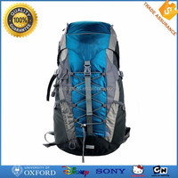 Wholesale polyester custom made branded hiking backpack