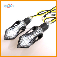 Motorcycle Scooter Fenders Waterproof Red 12 LED Brake Tail indicator light price