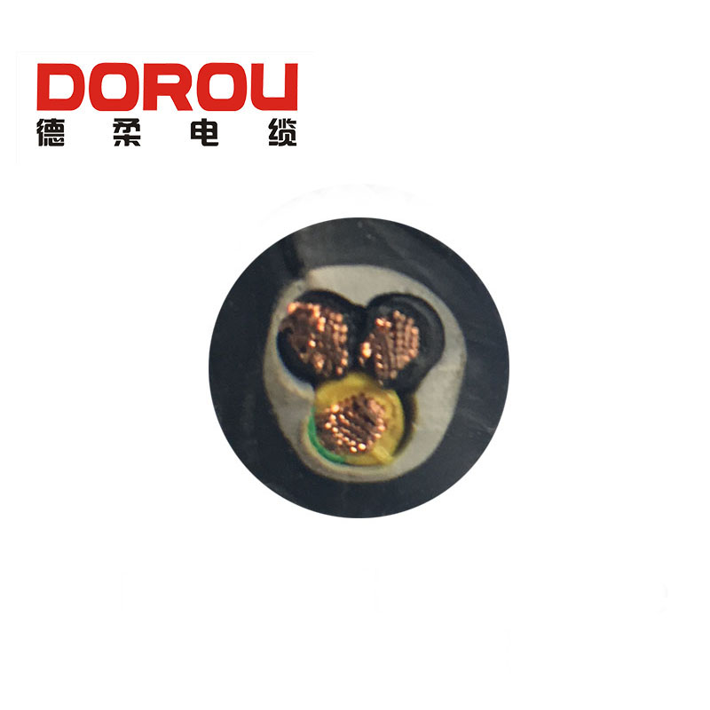 VDE 0.6/1KV tensile TPE insulation oil resistant power cable