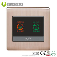 China Manufacturer Eco-Friendly Save Power Door Wall Switch With Indicator Light
