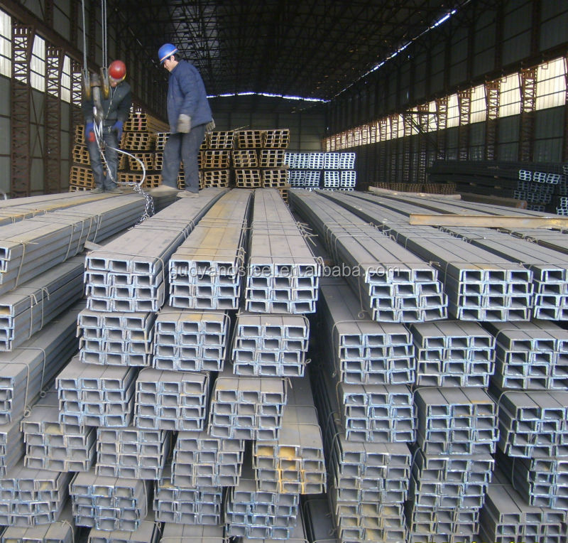 80mm strut slotted support system galvanized steel u beam c channel