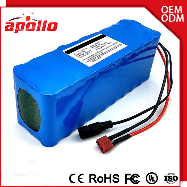 3S12P 12v 24ah battery pack lithium ion rechargeable 18650