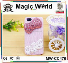 PINK PEARL HANDMADE CASE FOR IPHONE 5S