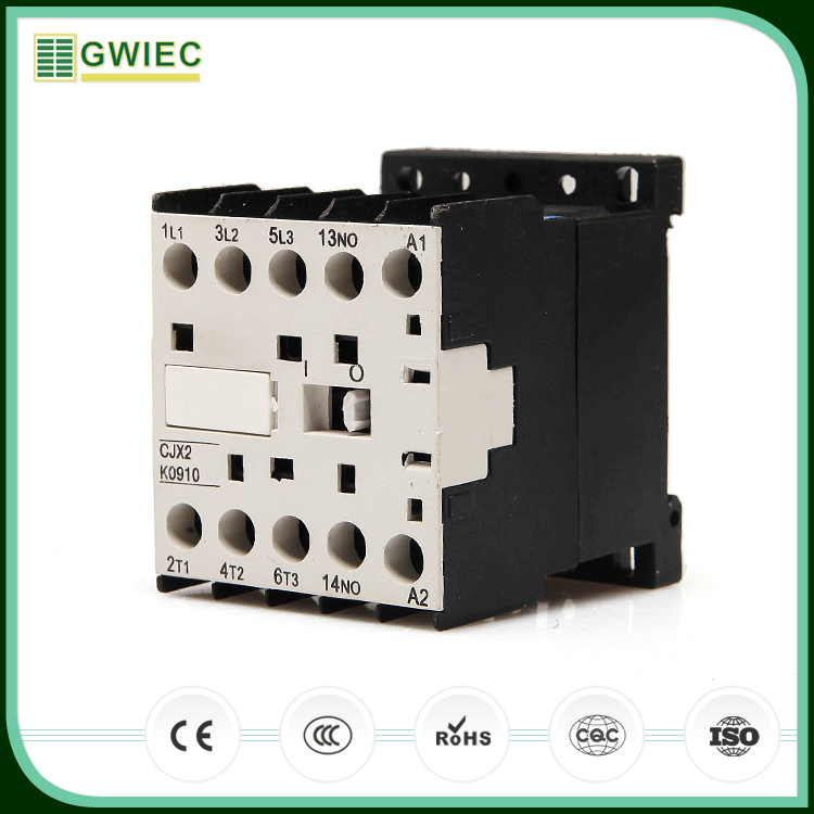 GWIEC Hot Sell 2016 New Products Lc1-K12 Magnetic Ac Electrical Contactor 380V
