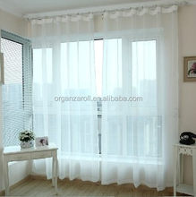 2015 Latest Design Pure White Middle East Style Curtain