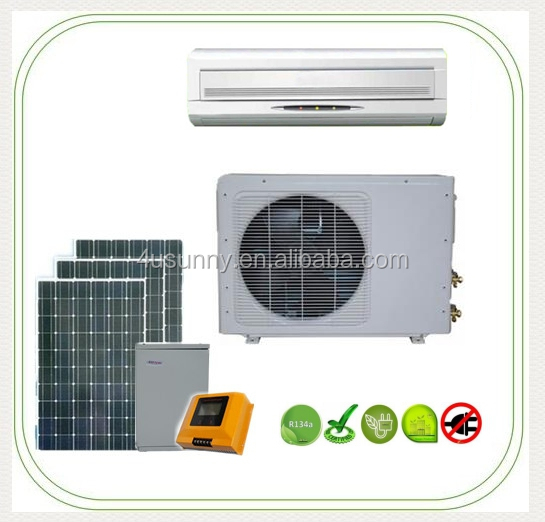 Amazing DC 48V Solar Powered Split Air Conditioner of new types