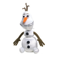St hot DIY toys famous animation Frozen snowman olaf 100% PP cotton stuffed toys
