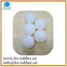 High quality 50mm rubber bouncy dog ball wearproof silicone soft Mini low-bouncy ball