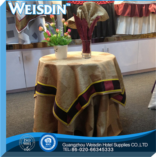 manufacter Twill pvc coated cotton tablecloths