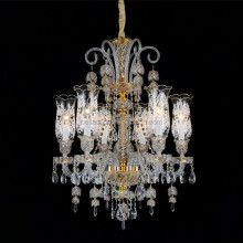 Low Ceiling Candle Chandlier Modern Chandelier Crystals Flush Mount Crystal Lighting Lights