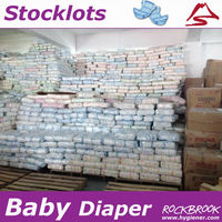 High Quality Rejected Baby Diaper Stock, B Grade Baby Diaper in Bale