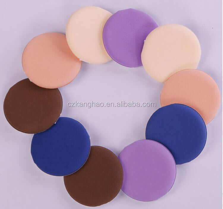 High end unique customized cosmetic powder puff for foundation