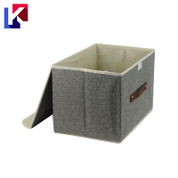 Multifunction decorative Foldable toy Canvas Storage boxes
