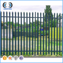 Wire Mesh Fence/Heavy duty Galvanised Steel Palisade steel European-style guardrail fencing