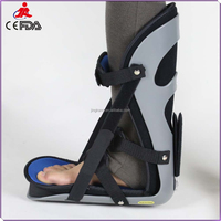 factory price FDA CE approved foot ankle splint / orthopedic plantar fasciitis night splint / waterproof foot drop splint