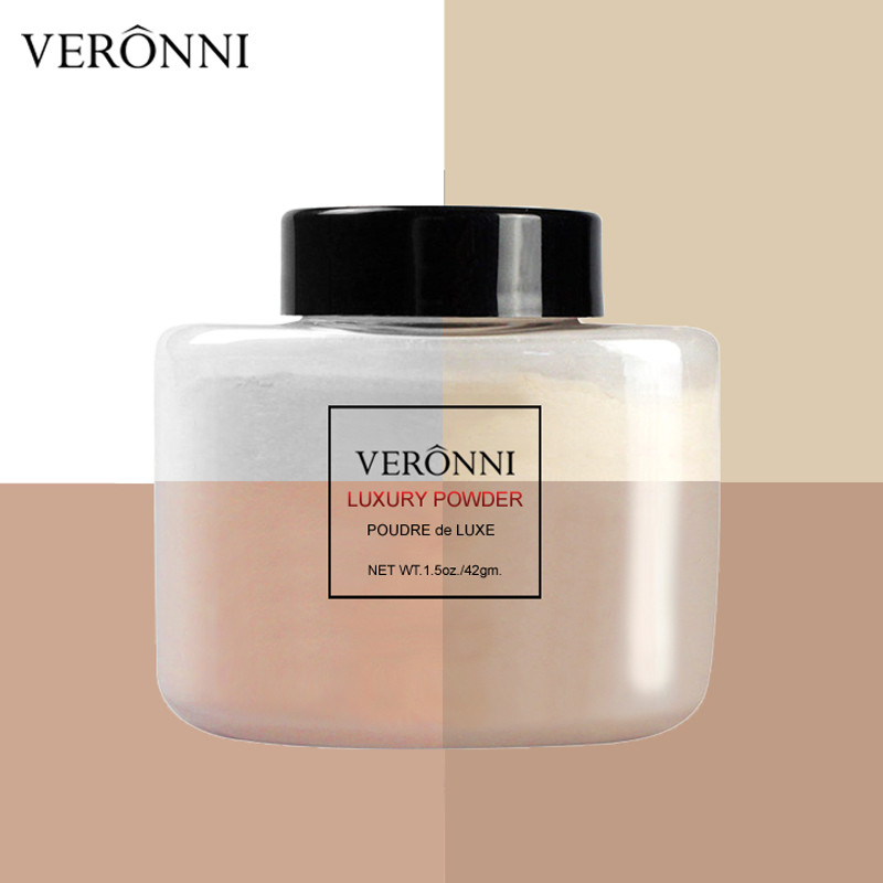 Popular Veronni New Cosmetic <strong>Face</strong> Makeup Waterproof Skin Loose Powder