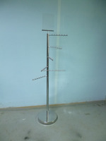 metal hanging ornament display stand