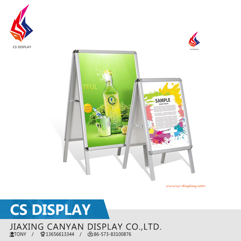 A1 Double side aluminum poster stand a board