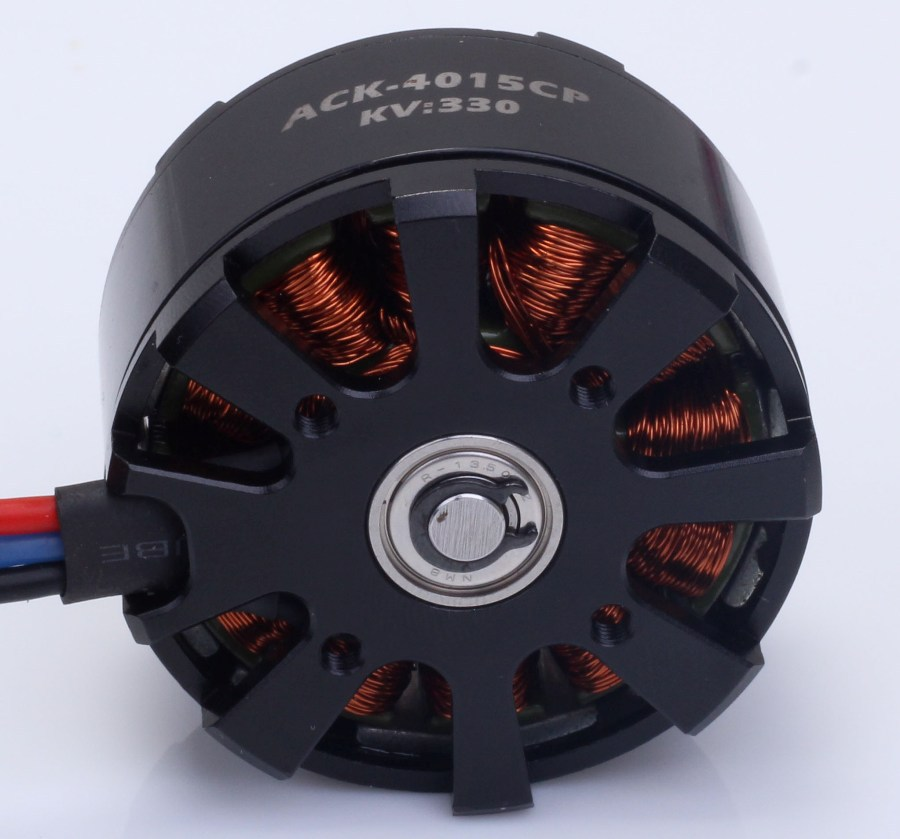 Ack factory brushless motor for multi copter dron rc planeAX4015CP 350-900Kv