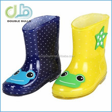 2015 New Lovely Skidproof Rubber Rain Boots for Boys