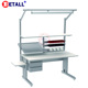 Good quality new style electronics dental lab bench with other laboratory furniture