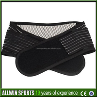 elastic and pile foam material, four stays in back, high quality breathable lumbar band,lumbar support