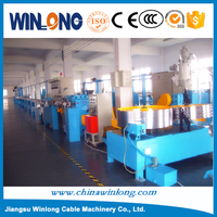 Physical foam coaxial cable extrusion line