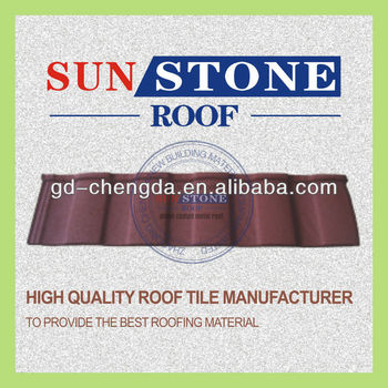 Ocean Blue Executive Metal Roofing Tiles/ Steel Tile Roof Bond