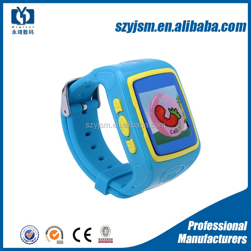2016 kids gps smart watch phone with touch functionality