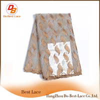 Promotional Mesh Fabric Elastic Beaded Net Lace