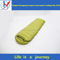 320T 0.95kg-2.3kg portable cheap price keep warm wearable funny sleeping bag mountain camping electric heated sleeping bag