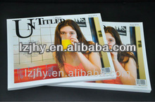 Art paper cardboard photo album print with high quality and good service