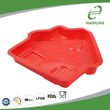 Excellent 100% Food Grade Silicone Big House-Shaped Cake Mould Cake Decorating Mould Tools