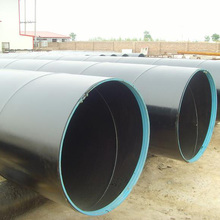 800nb pipe spiral welded with 3 layer pe coating