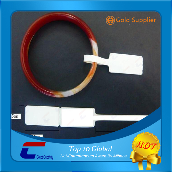 High quality security PET waterproof eas RFID smart soft label for jewelery