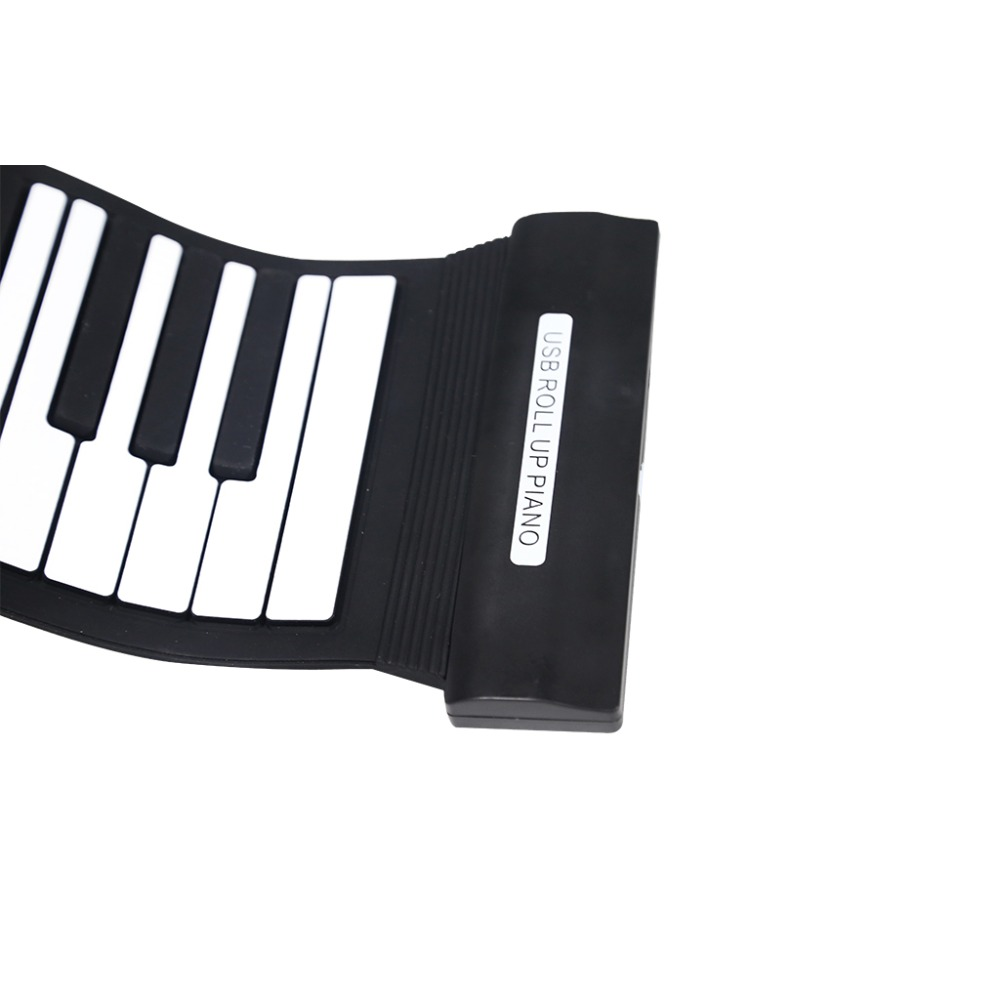 Professional Flexible 88 Keys Korg Piano Keyboard MIDI Roll Up Piano Keyboard for Children Gifts