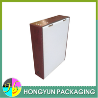 wholesale 2 peice corrugated folding apple fruit packaging boxes