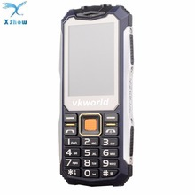 New Original VKWorld Stone V3S 2.4 inch Mobile Phone FM Russian Keyboard Dual SIM Cellphone Anti Low Temperature Dual LED Light