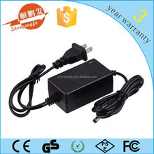 dc12v 1000ma laptop ac adapter with UK/ US/ EU/ AU plug