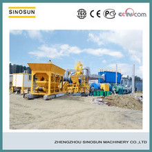 QLB30 Mini Mobile Asphalt Batching Plant in China,modular design