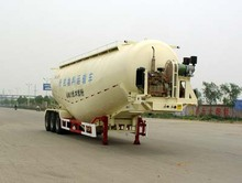 China manufacture Semi-Trailer Type 3 axles 68tons bulk cement tanker silo trailer for sale