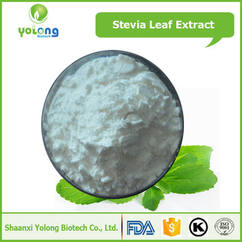 Natural Sweetener Stevia Leaf Extract Powder 95% Stevioside Price