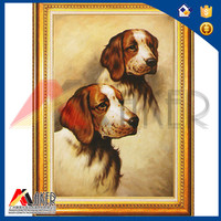 New Design 3d Painting With dog For Home Decoration